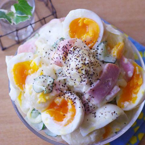 卵入りポテサラダ