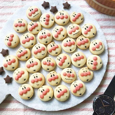 子供受け抜群アンパンマンクッキー