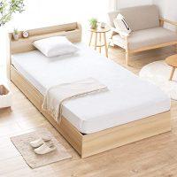 収納付きベッドでデッドスペースを有効活用!一人暮らしの狭い部屋にもおすすめ