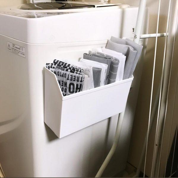 洗濯ネット収納に活用