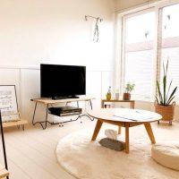 部屋を広く見せるなら「低さ」が鍵。一人暮らしのロースタイルインテリア実例まとめ