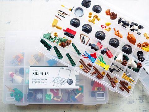 レゴをパーツごとに収納