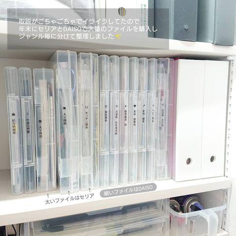 透明ファイルケース