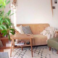 小さくてもおしゃれで便利。ソファ横のサイドテーブル実例まとめ