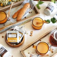 【folk公式アンバサダー】簡単DIY !色とりどりのカフェトレイで食卓を彩ろう
