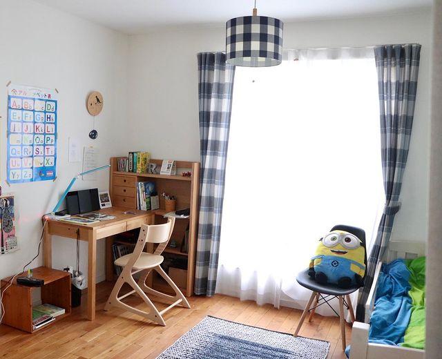 シンプルで快適な子ども部屋