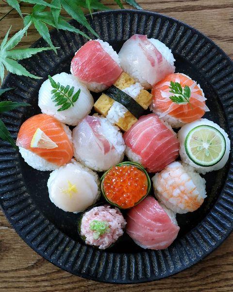 誕生日パーティーに!おしゃれな手まり寿司