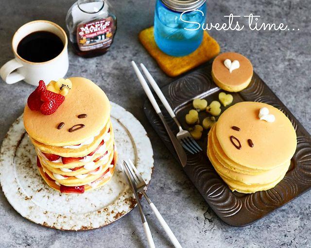 小麦粉×卵×牛乳で!手作りパンケーキレシピ