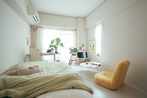 ワンルームに快適なホームオフィス実例