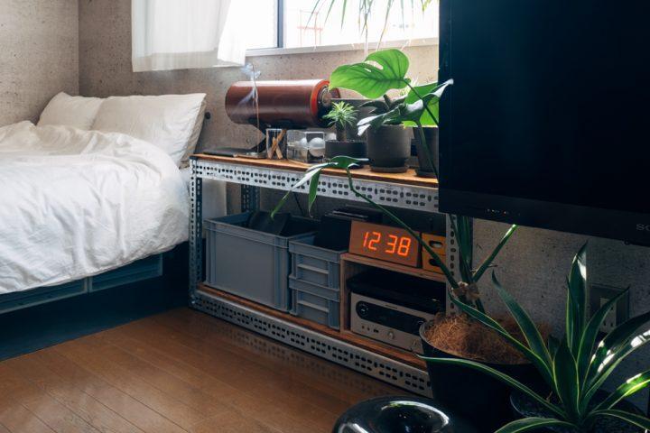 家具、家電等の大きいものは出来るだけ空間に凹凸が出ないよう壁面に沿うように設置2