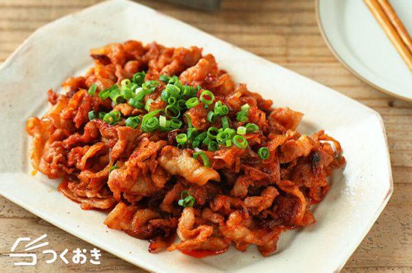 ご飯がすすむ♪豚肉コチュジャン炒め丼レシピ