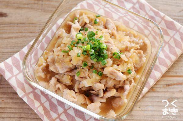 味付け簡単!豚肉とたまねぎのさっと煮レシピ