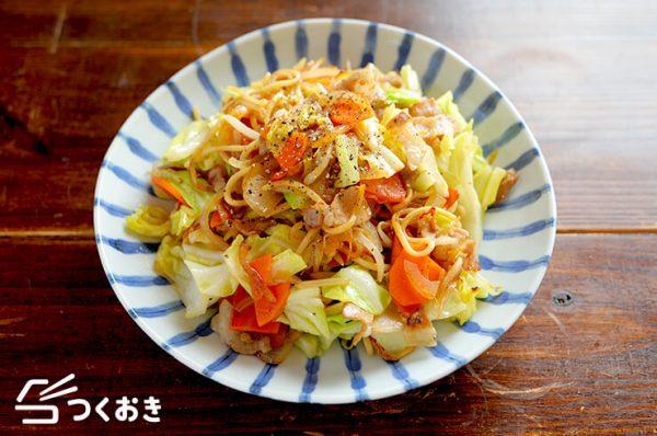 あっさり系♡野菜たっぷり塩焼きそばレシピ
