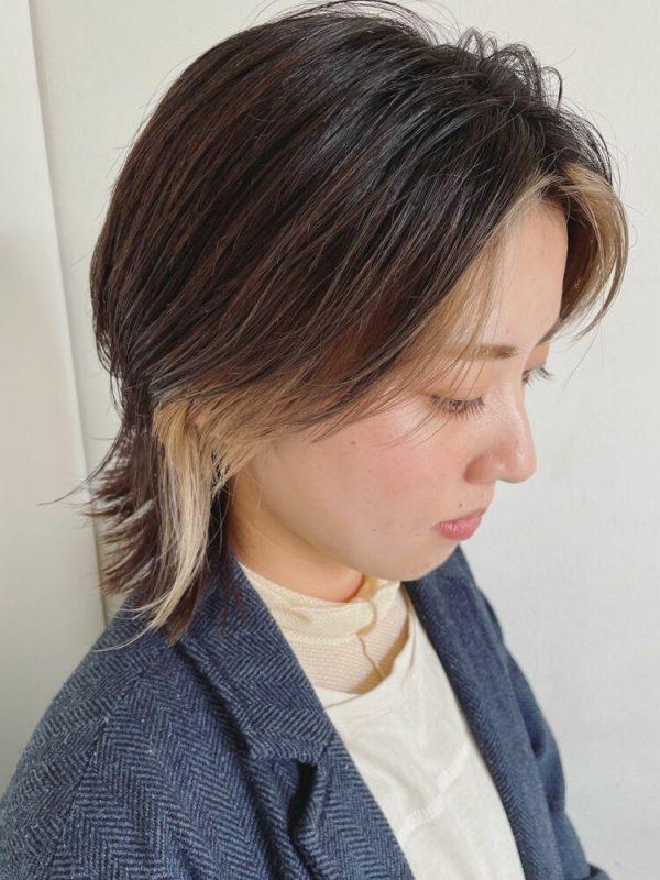 夏のレディース前髪トレンド4