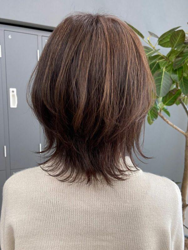 夏におすすめのレイヤー×ミディアムの髪型