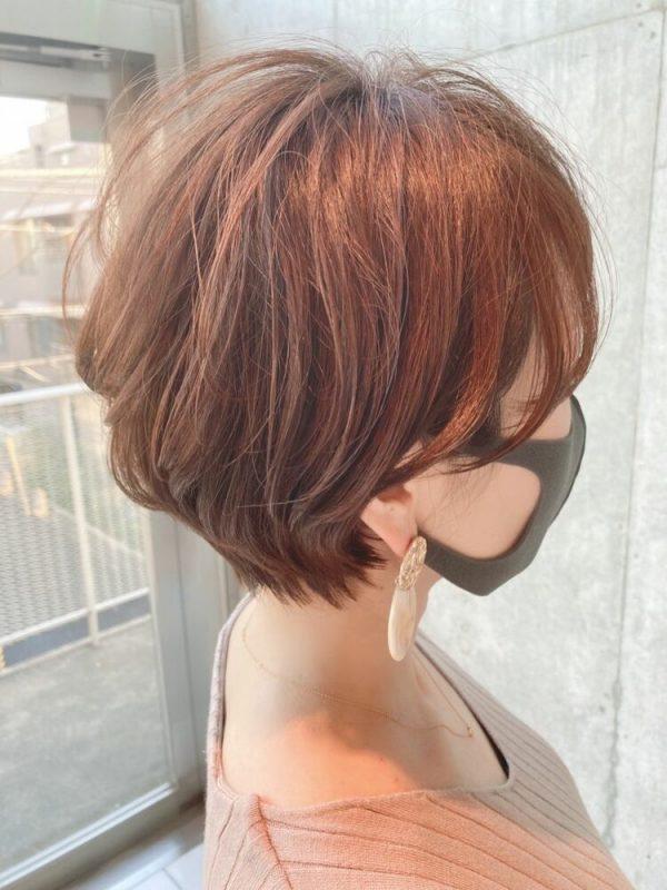 40代の大人女性に似合う髪型7