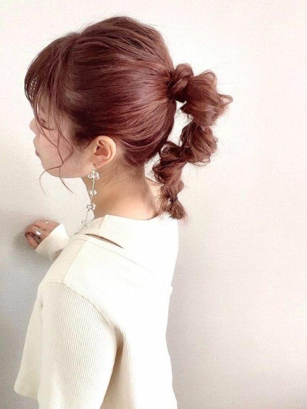 大人の涼しい髪型アレンジ7