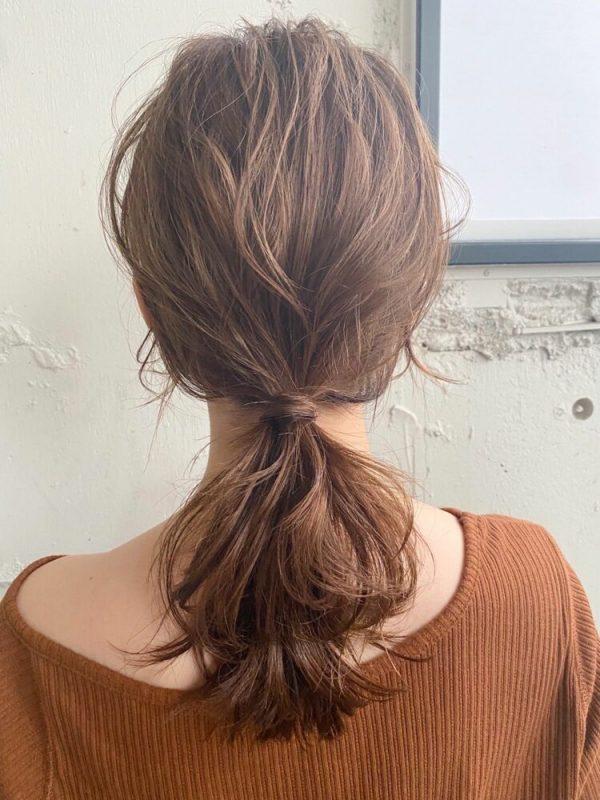 大人の涼しい髪型アレンジ6