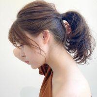 夏らしい涼しい髪型にしたいなら。大人女子にして欲しい簡単にこなれ感を出すアレンジ