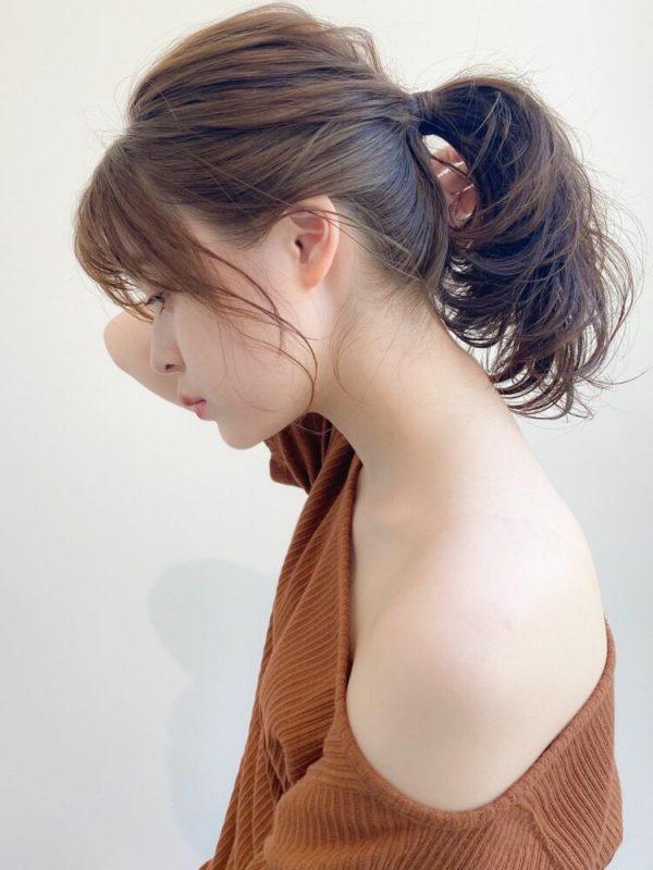 大人の涼しい髪型アレンジ3