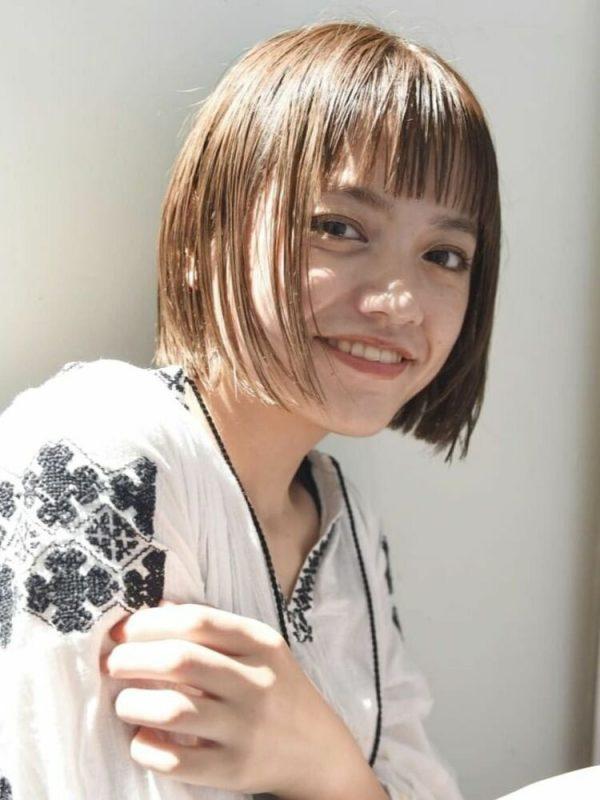 夏のレディース前髪トレンド16
