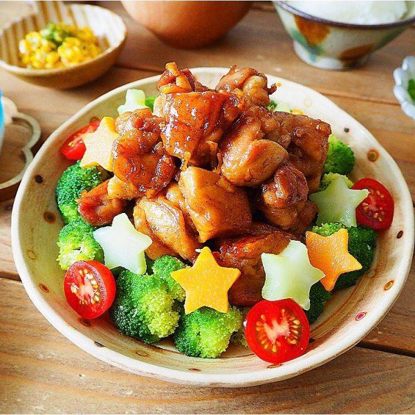 七夕におすすめ!鶏もも肉のマーマレード煮