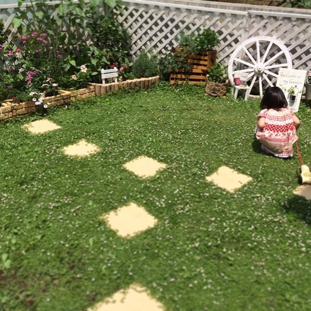 洋風のお庭5