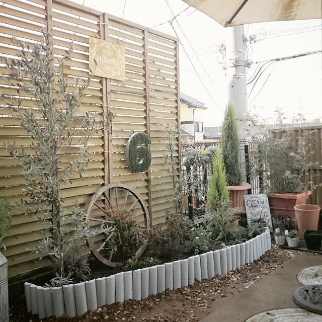 DIYで作る可愛い庭