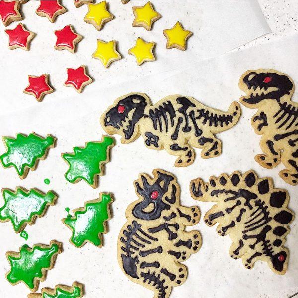 恐竜好き喜ぶ!恐竜アイシングクッキーレシピ