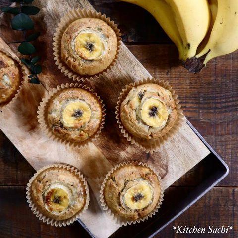 完熟バナナで♪砂糖不使用のバナナマフィン