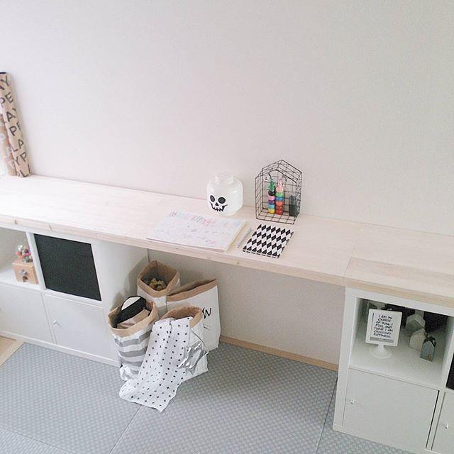 収納ボックスを活用した和室実例