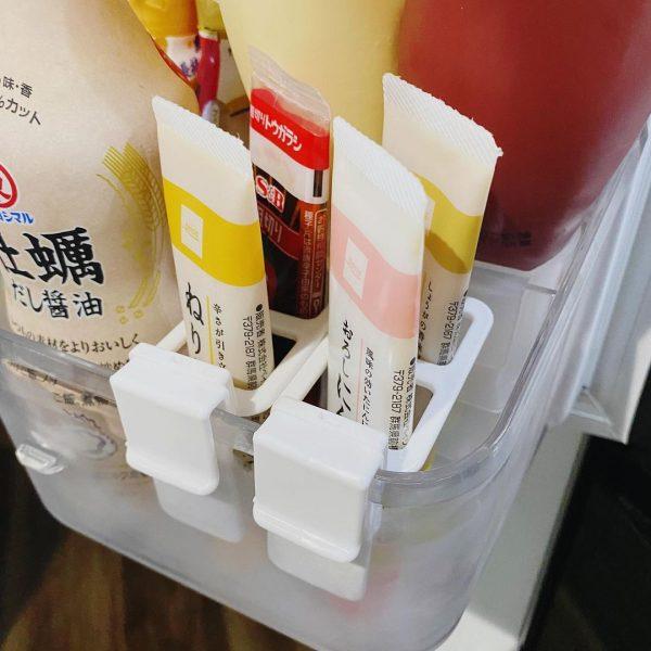 便利な冷蔵庫ドアポケット仕切り