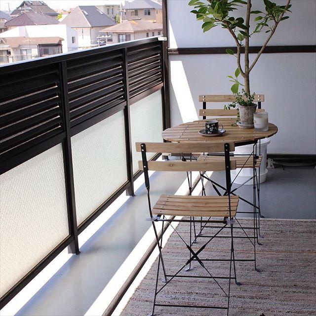 スタイリッシュな家具が主役の事例