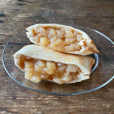 料理簡単♪アップルパイ風ホットサンドレシピ