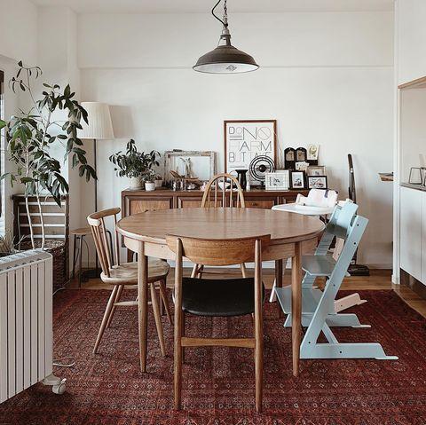 スペースを有効活用できるダイニングテーブル