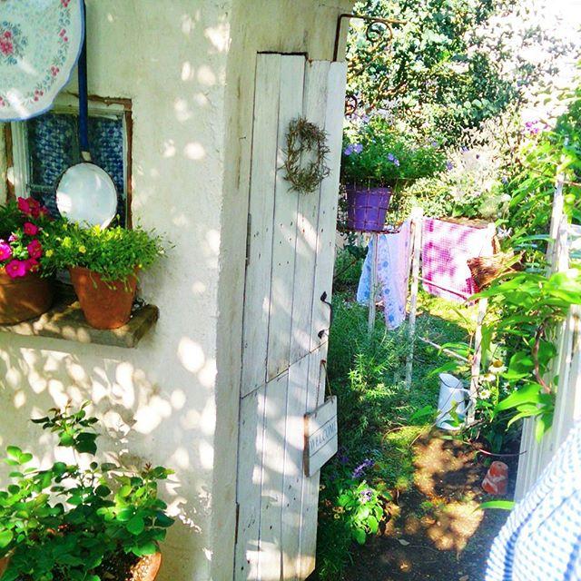 北欧のナチュラル系ガーデン