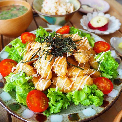 人気レシピ!鶏むね肉の照り焼きチキン