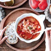 玉ねぎ×トマト簡単レシピ特集。主菜〜副菜まで美味しく作れる簡単メニューをご紹介