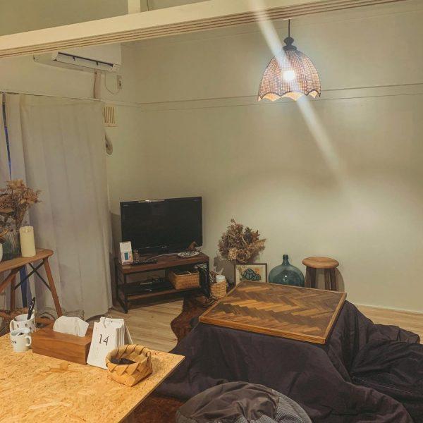 レトロな家具がおしゃれな和風インテリア実例