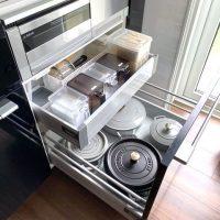 調理器具を使いやすくする収納術。手際よく料理が出来る整頓方法をご紹介