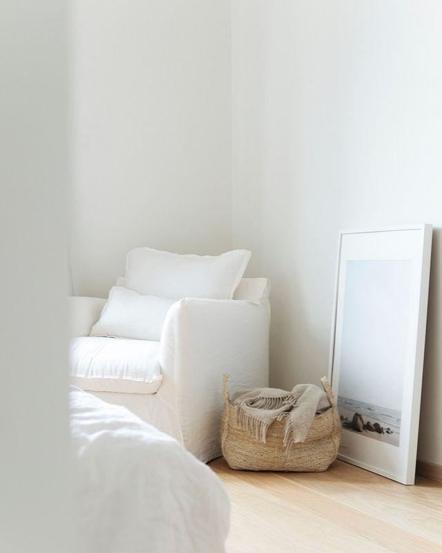 ベッドルームのリラックススペース