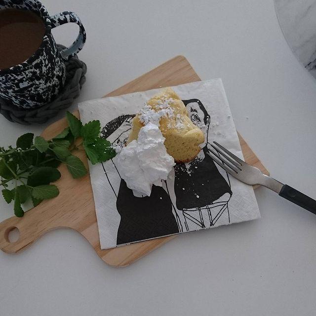 紙コップで♪フライパンシフォンケーキレシピ