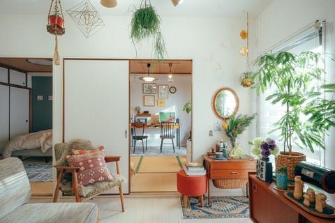 和室を使ったミニ書斎