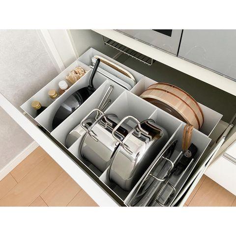 適材適所の整理収納で家事効率をアップ