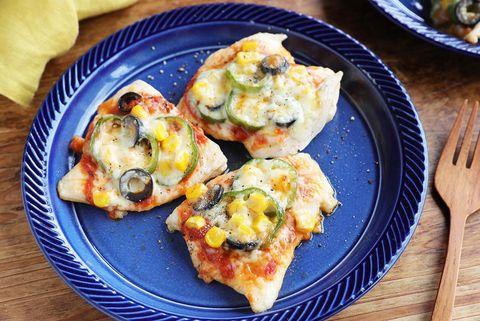 調理簡単!鶏むねピザ風チキンレシピ