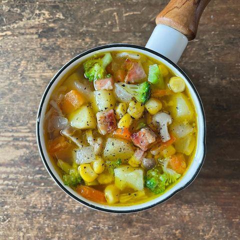 ありものスープ