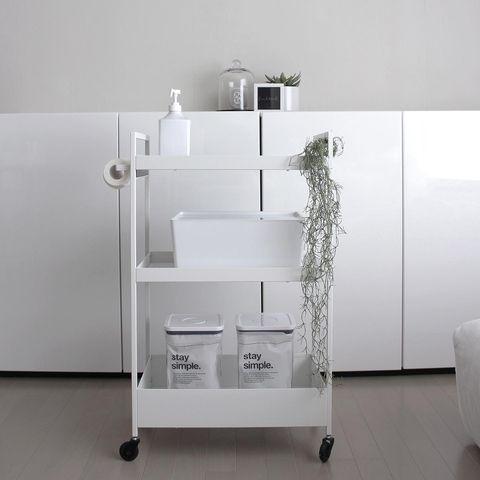 IKEAのワゴンで実現!おしゃれなストック収納