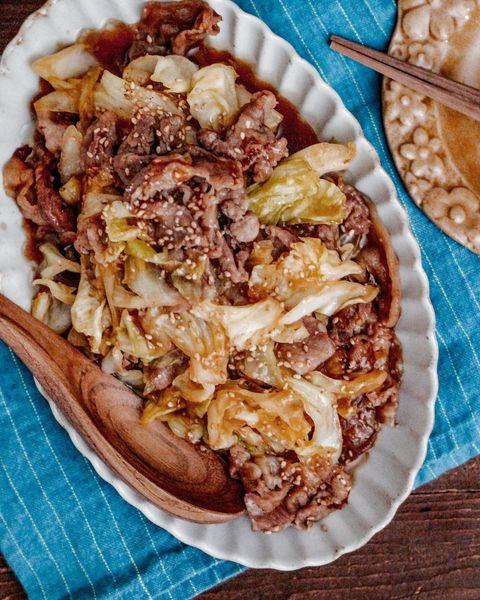 豚肉とキャベツの簡単スタミナ炒め