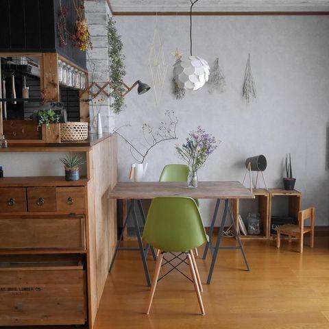 カフェテーブル9