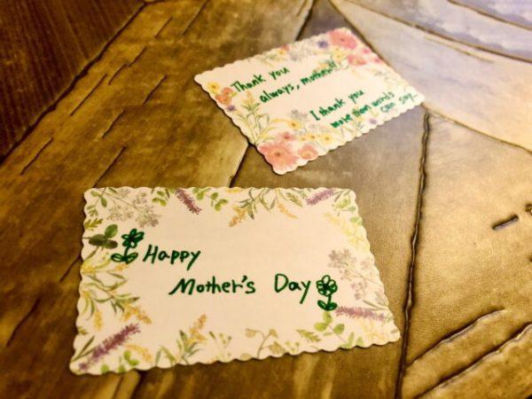 感謝の気持ちを伝えよう!メッセージカードとレターセット♪2